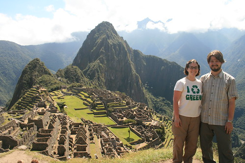 picture of tory and me at machu pichu
