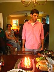 IMG_6128 (Jason Lander) Tags: noah birthday party jason laura cake candles jake ben graduation bbq amelia caryn