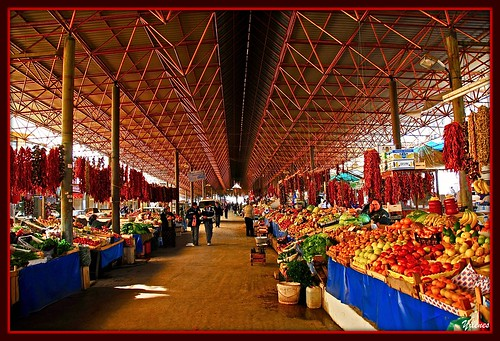 Mugla Fruit market,Turkiye by yilenes {On & Off }.