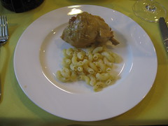 Pierre Hermé: Pasta and chicken