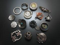 Etsy Metal Charm Swap