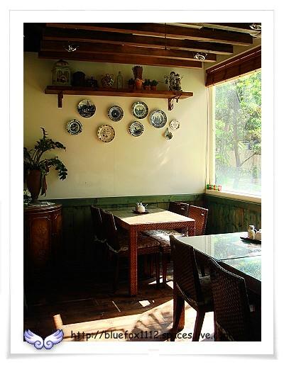 080725CalaCala義大利廚房01_午後陽 光灑落小包廂