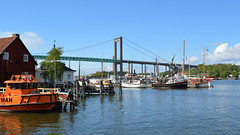 For my album; Workingboats, passenger boats and Fishing boats (2) (andantheandanthe) Tags: river götaälv water floating pilot pilotboat workingboats clippers piers harbor harbour klippan älvsborgsbron