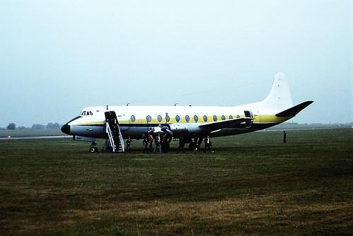 G-AZNH V Viscount Alidair CVT 14-08-77