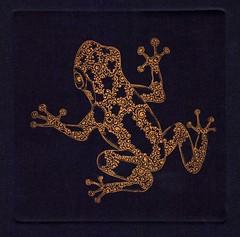 лягушка золото-синий 001 (tim.spb) Tags: original etching heart turtle postcard small snail crab valentine ornament owl plates proverbs desigh ãðàôèêà открытки графика малые fibonachi aquafortis формы офорт îòêðûòêè ìàëûåïîëèãðàôè÷åñêèåôîðìû îôîðò ëÿãóøêàçîëîòîñèíèé печатные