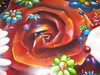 Blumen Metall Platte von SEAK