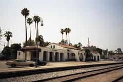 Pasadena Station (Andy961) Tags: california ca railroad santafe station architecture train railway amtrak depot pasadena atsf missionrevival