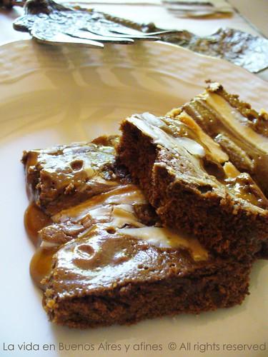 brownies dulce de leche 2