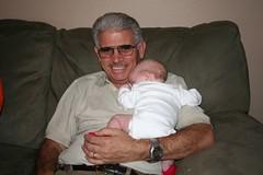 In Grandpa's Arms