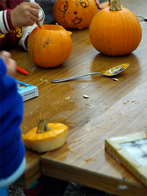 Kids' Pumpkin Carving