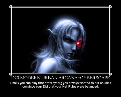 D20 Modern Urban Arcana+Cyberscape | Flickr - Photo Sharing!