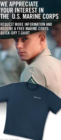 free marine tshirt