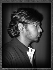 Self-portrait (Vasanthakumar) Tags: bw selfportrait sideview vignetting vasanth