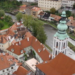 Cesky Krumlov: The roofs