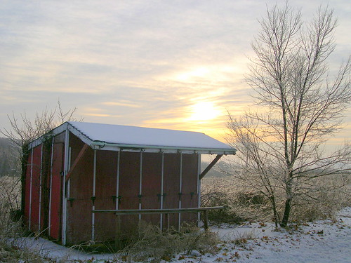 Abandoned Fruit Stand on Kesslersville Road
