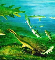 permian aquatic landscape
