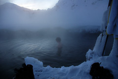 Hot pools (Annie Atkins) Tags: snow hot water naked iceland jeep annie christmas2007 triptolandmannalaugur