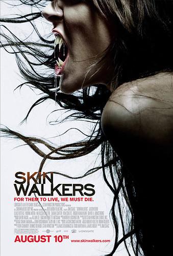 Skinwalkers (2007) theatrical