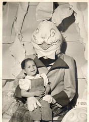 scary easter bunny (sparkleneely) Tags: bunny vintage easter found weird photo retro foundphoto easterbunny