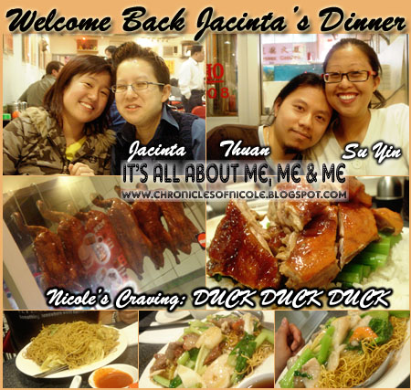 jacinta dinner