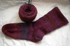 Forbidden Fruit Sock the First