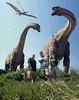 Nyctosaurus, Titanosaurus, Ornithomimus, Bob, Nigel, Suzanne