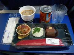 Snack on AirFrance AF2143 LHR-CDG