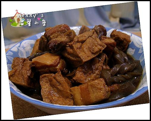 豬肉_紅燒五花肉&油豆腐