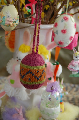 Knit Easter egg