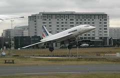 Concorde (caribb) Tags: paris france plane airplane flying airport europe aircraft flight jet aeroplane concorde charlesdegaulle sst airliner airfrance roissy cdg jetliner aroport groupa