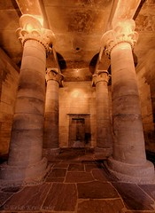 Isis temple in Leiden (smiling_da_vinci) Tags: history temple leiden ancient sandstone columns wide thenetherlands sigma isis 10mm rijksmuseumvanoudheden nationalmuseumofantiquities
