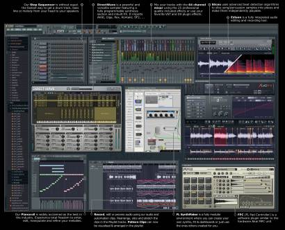 FLStudio, hecho con CodeGear Delphi ¡mola!