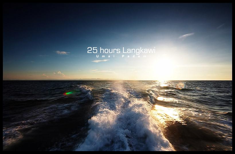 Boat ride to Langkawi