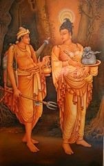 Prince Dantha and Princess Hemamala  were  brought the Tooth Relic  to Sri Lanka in the 4th Century AD due to the cruel war in the State of Udeni of  India. (South Asian Foreign Relations) Tags: india century tooth war state princess ad 4th prince sri lanka brought were due relic cruel udeni dantha hemamala