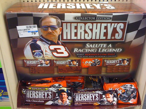 Dale Earnhardt chocolate candy - Taken With An iPhone