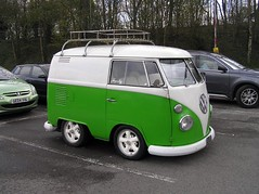Mini VW  van ( Georgie R) Tags: volkswagen van minivan m4 memburyservices frosty66