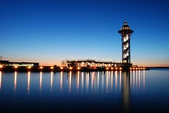 Dobbin's Landing (erie,pa) Tags: lake tower bay dock lakeerie pennsylvania landing pa erie eriepa dobbinslanding bicentennialtower eriepennsylvania publicdock