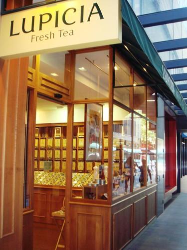 Lupicia Tea@Melbourne QV