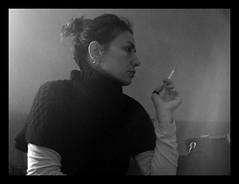 me (: panti :) Tags: bw persona blackwhite bn ritratto biancoenero fumo fumare sigaretta profilo profie