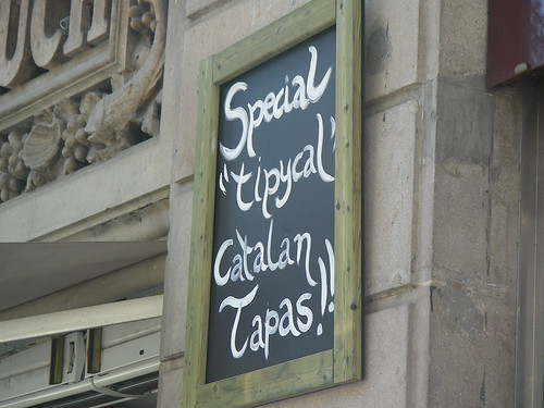 Special Typical Catalan Tapas