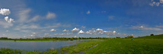 back again! (qletsqop) Tags: sky water grass clouds river landscape wolken gras lucht ijssel overijssel rivier olst qletsqop