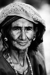 Indian woman, Uttarakhand (damonlynch) Tags: woman india asian indian headscarf hindu uttarakhand hindusim shyamlatal