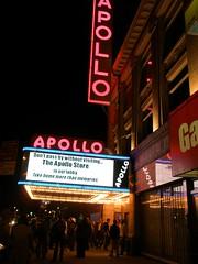 Fragments of NY (Amateur Night at Apollo Theater) (tanakawho) Tags: city light urban ny night dark marquee theater neon darkness nightshot harlem crowd letter apollo apollotheater amateurnight tanakawho