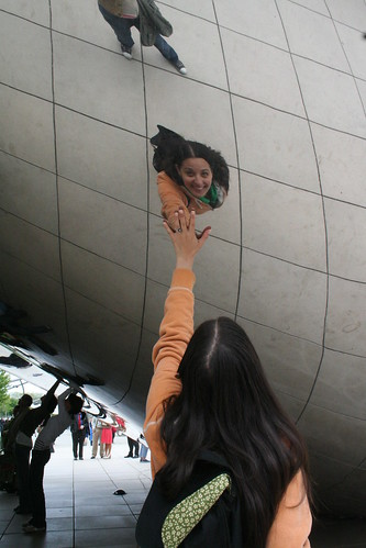 Rosa in Cloud Gate