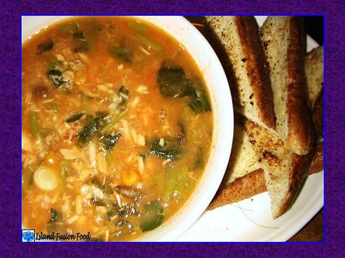 Crockpot Veggie Soup Dinner