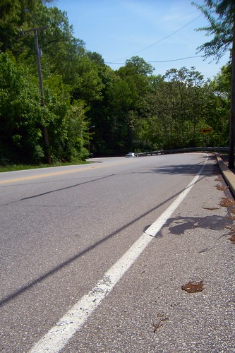 SB Michigan Road curve