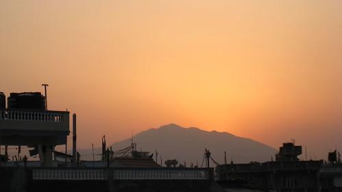 Nepali sunset