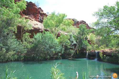 Karijini swimming hole