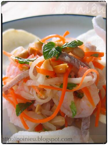 Vietnamese style Kohlrabi salad