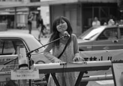 CONTAX G2 + Sonnar 90mm with B&W film (digitalbear) Tags: blackandwhite bw film with contax miyazaki singer g2 90mm 45mm planar sonnar nahoko